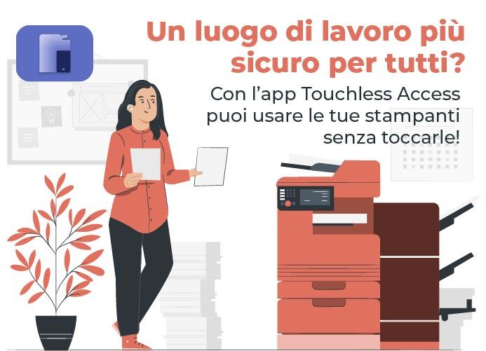 App Xerox Touchless Access